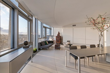 Custom, Urban Chic One Bedroom in Jean Nouvel Chelsea Masterpiece